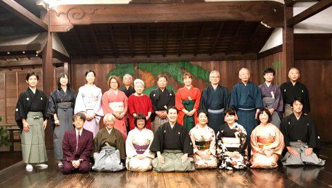 一年に一度の狂言「若菜の会」大江能楽堂にて無事終了しました!