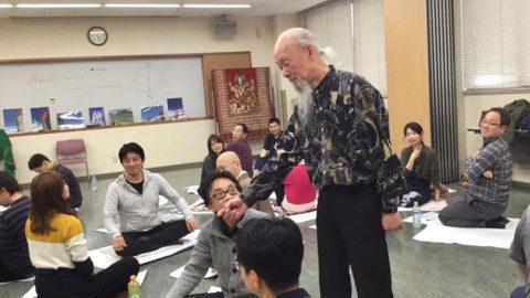 成瀬雅春先生の倍音声明と、都市と瞑想の特別講座盛り上がりました!