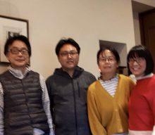 シンガポールからNLPの受講生の方がご家族で我が家にいらしてくださいました!