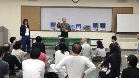 ヨーガ行者成瀬雅春先生の「倍音声明」と特別講座「魂を磨く」盛り上がって終了しました!