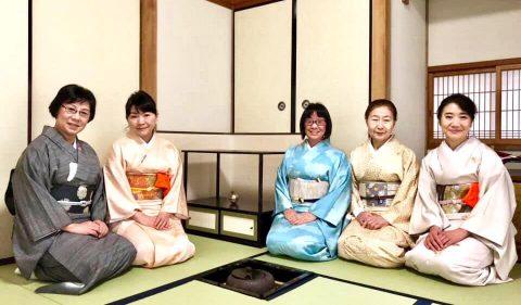 NLPトレーナー会日本文化探求部の恒例 初釜