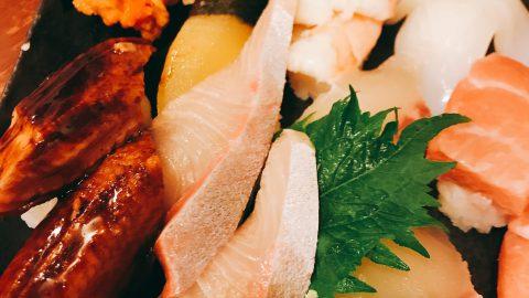 NLP研究会の懇親会は、やっぱりどでか寿司で超満腹❣️