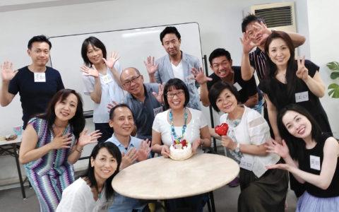 大阪NLP第57期プラクティショナーコース3週目です!