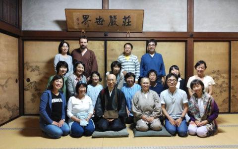 高野山リトリート合宿2日目は、高野山親王院にて。