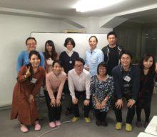 言葉の科学ワンデイ、内海先生と金蔵院葉子のダブル講師で開催しました。