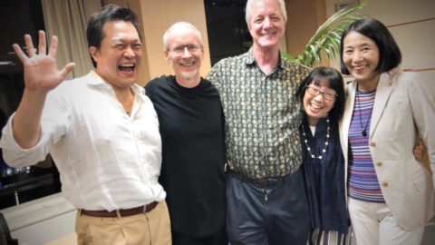 東京にて S ギリガン博士のジェネラティブファシリテーション三日間講座 深く豊かに終了しました。