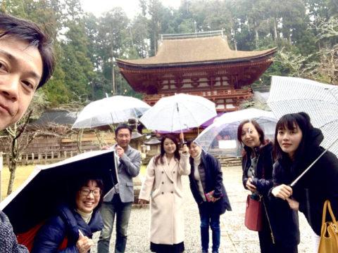 NLPの受講生さん達と、橋本このの温泉♨️ツアーです。