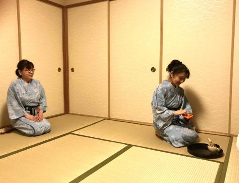 マインドフルネス茶道体験(^o^)