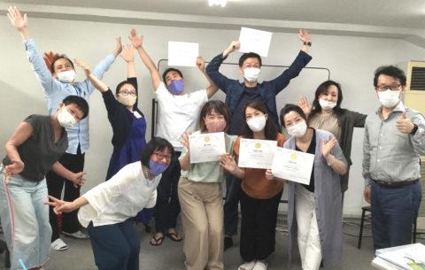 内海先生と金藏院葉子のコラボLABプロファイル認定講座、全員熱烈合格です‼️