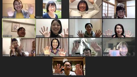12月のオンラインホロン俳句会、新たなメンバーを迎えて元気に納句座❣️